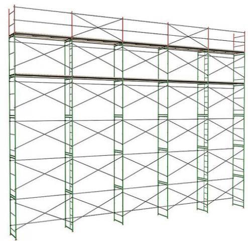 Рамные строительные леса ЛСП 60