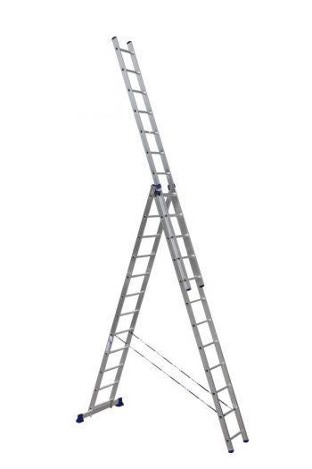 Трехсекционные усиленные лестницы